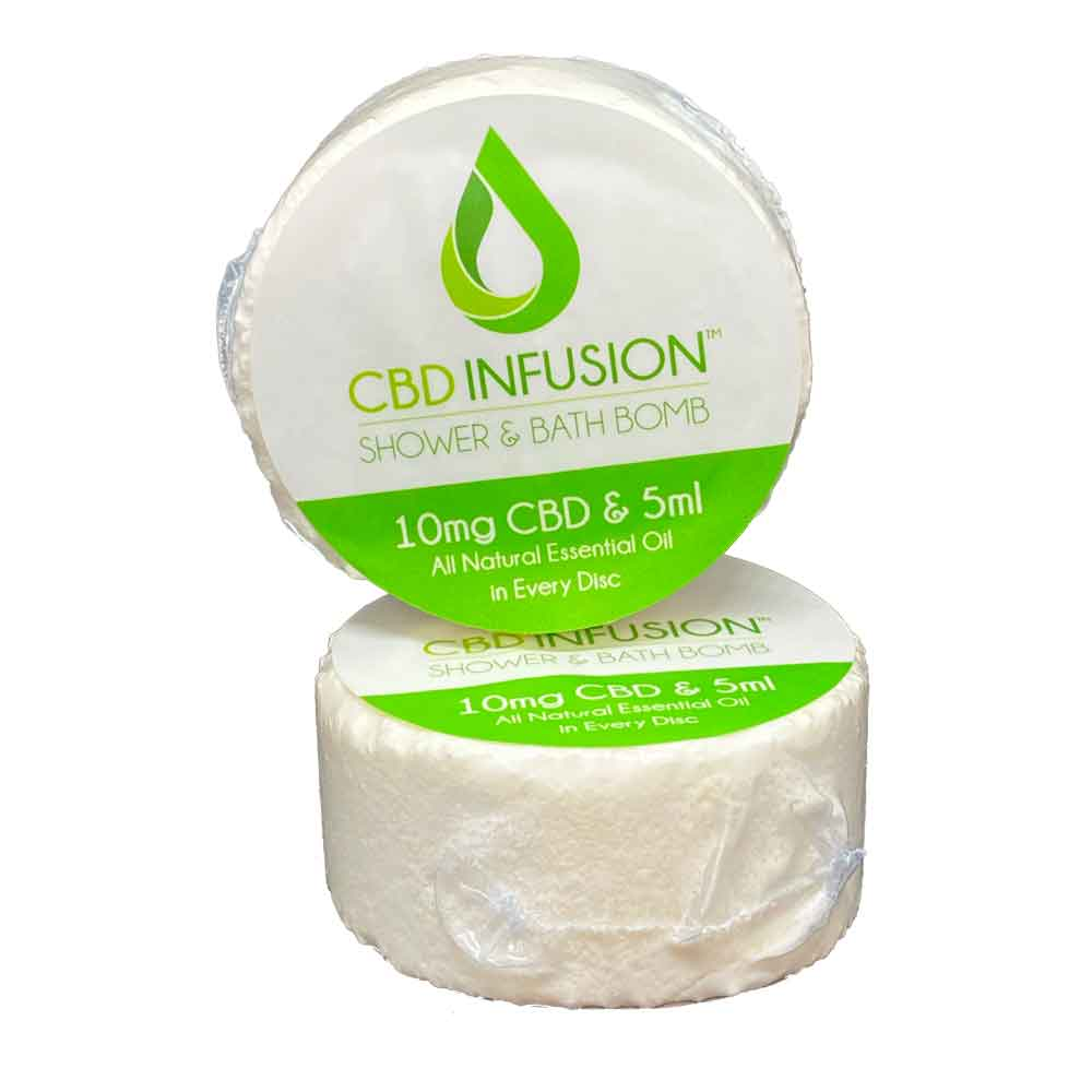 CBD Infused Shower & Bath Bombs